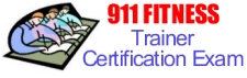 911 Fitness Trainer Certification Exam